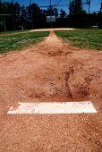 Pitchers Mound Plate