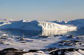Huge iceberg in Disco Bay