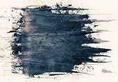 Fundo abstrato pintado grunge, textura de tinta.
