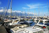 image of larnaca  - Yachts in Larnaca port Cyprus - JPG