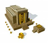 Old Testament, The Temple Of Solomon Was The First Holy Temple Of The Ancient Israelites, Located In poster