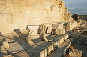 Ruins In Kourion