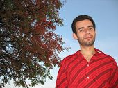 Rowan-Tree And Smiling Man