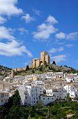 White village, Velez Blanco, Andalusia.