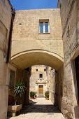 Matera Street Basilicata Italy  Version 2