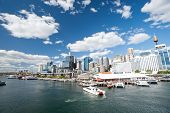 Darling Harbour In Sydney, Australia.