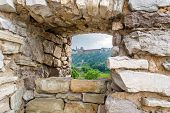 View From The Embrasure. Curtain Wall At Kamyanets-podilsky Fortress, Ukraine
