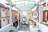 Singapore - April 21: Located Within The Larger District Of Outram, Singapore's Chinatown Is An Ethn
