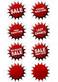 Promotional sales stickers
