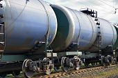 The Train Transports Tanks
