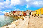 alte Stadt in Istrien in Porec, Kroatien.