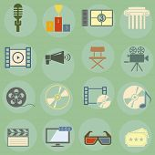 Vector illustration on the theme of the movie