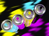 Spray Paint Cmyk