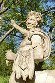 Statue of the Centaur in Pavlovsk