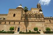 The Cathedral Of Palermo Is An Architectural Complex In Palermo, Sicily, Southern Italy.