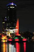 Orlando's Lake Eola Fountain