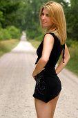 Very Short Black Skirt poster
