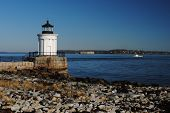 "Portland Breakwater Lighthouse aka ""The Bug"""