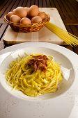 pic of guanciale  - Spaghetti alla carbonara - JPG