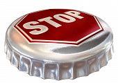 Tampado limite Stop Sign Cap