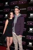 LOS ANGELES - AUG 19:  Roxane Mesquida and Frederic Da at the