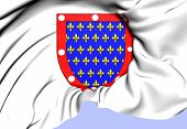 stock photo of duke  - Counts and Dukes of Alencon Coat of Arms - JPG