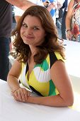 LOS ANGELES - AUG 23:  Heather Tom at the Bold and Beautiful Fan Meet and Greet at the Farmers Market on August 23, 2013 in Los Angeles, CA