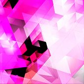 image of triangular pyramids  - Triangles Abstract Background - JPG
