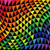 stock photo of cell block  - Psychedelic Pattern - JPG