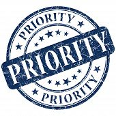 stock photo of priorities  - priority stamp  - JPG