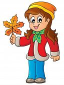 Autumn thematic image 7 - eps10 vector illustration.