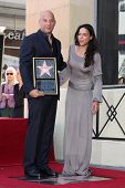 LOS ANGELES - AUG 26:  Vin Diesel, Michelle Rodriguez at the Vin DIesel Walk of Fame Star Ceremony a
