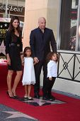SLOS ANGELES - AUG 26:  Paloma Jimenez, Hania Riley Diesel, Vin Diesel, Vincent Diesel at the Vin DI
