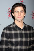LOS ANGELES - AUG 24:  Max Ehrich at the Young & Restless Fan Club Dinner at the Universal Sheraton Hotel on August 24, 2013 in Los Angeles, CA
