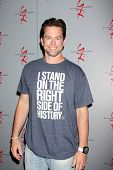 LOS ANGELES - AUG 24:  Michael Muhney at the Young & Restless Fan Club Dinner at the Universal Shera