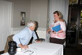 LOS ANGELES - AUG 24:  John McCook, Fan at the Bold n Beautiful QnA and Autograph Event  at the Univ