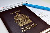 Canadian Passport And Customs Declaration Form