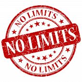 No Limits Red Stamp