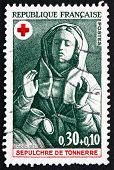 Postage Stamp France 1973 Mary Magdalene