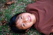 Beautiful Hispanic Girl Smiling