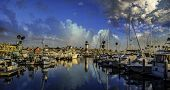 Oceanside Harbor - Oceanside is 40 miles North of San Diego, California, USA.