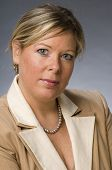 cute vierzig Jahre alte Frau senior Business executive