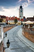 Downtown Of Sibiu, Transylvania