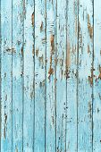 picture of wood pieces  - Old very nice blue wood plank background - JPG