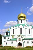 Feodorovsky Sovereign's Cathedral In The Pushkin (leningrad Region)