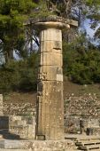 Olympia archaeological site in Greece