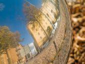 Helsinki Fall Reflection