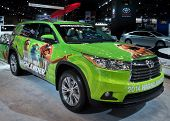 2014 Toyota Highlander Muppets Edition