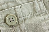 Khaki Pocket With Button