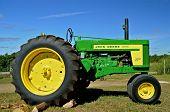 John Deere 730 tractor at Rollag